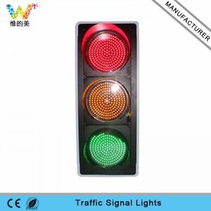 New arrival 400mm full ball LED traffic light for sale