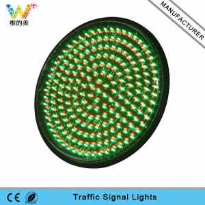 400mm mix red green LED traffic signal light module