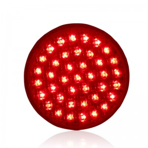 New design customized 100mm red traffic light replacement LED traffic signal for promotion