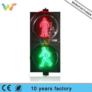 300mm Crosswalk Pedestrian led Traffic Light