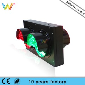 full screen 200mm red green road safety led traffic light