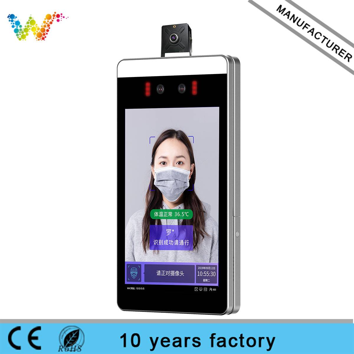 Factory price Business 3D Temperature Recognized Face Recognition Terminal