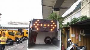 Taipei Municipal 25-lamp vehicle-oriented guideboard has won customers' satisfaction