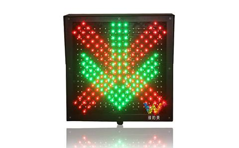 Traffic light for car washer with countdown timer function