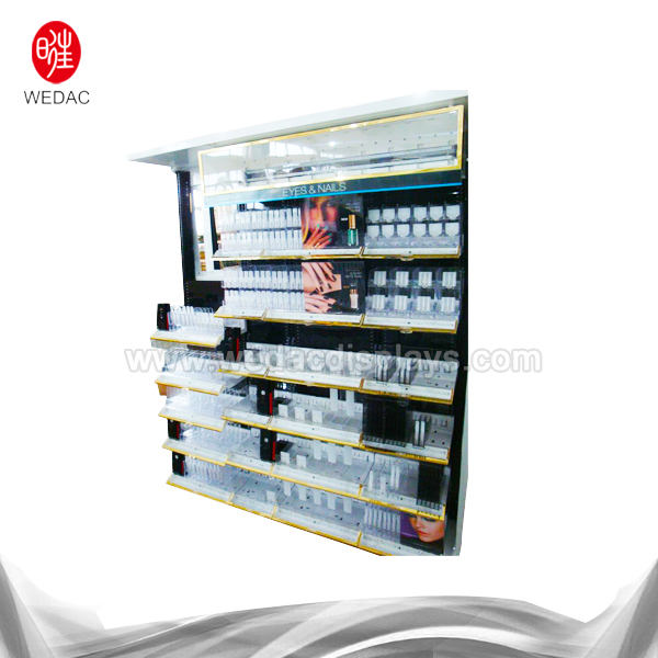 China New Product Makeup Display Rack -