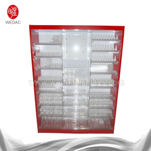 Fixed Competitive Price Hook Cosmetic Display -
