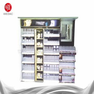 floor standing cosmetic display stand