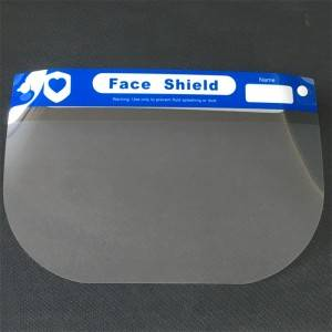 Disposable protective face shield NEW TYPE 1