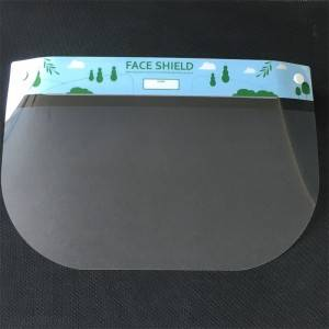 Disposable protective face shield NEW TYPE 3(ENG)