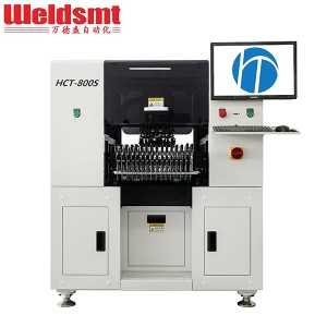 Multi-functional SMT Pick and Place Machine HCT...
