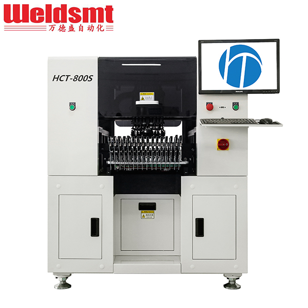 Multi-functional SMT Pick and Place Machine HCT-800S SMT Surface Mounting Machine Featured Image