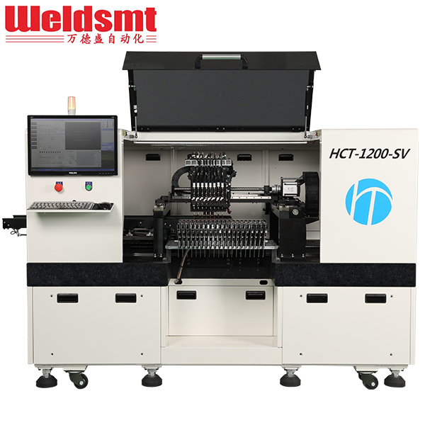 HCT-1200-SV LED Placement Machine Automatic Pick & Place Machine Featured Image