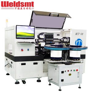 High-speed LED Lens Mounter HCT-V8 Automatic Lens Placement Machine
