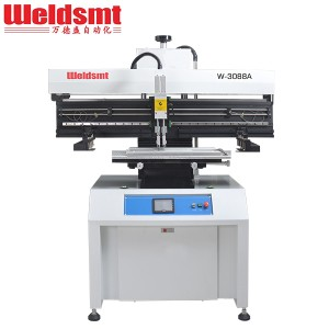 Standard Semi-automatic Solder Paste Printer W-3088A Solder Paste Printing Machine