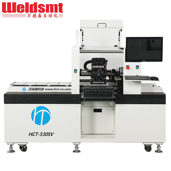High-speed LED Pick and Place Machine HCT-530SV Semi-Automatic Pick & Place Machine Featured Image