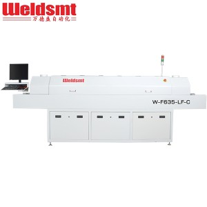 Economic Lead Free Reflow Ovens with 6 Zones W-F635-LF-C W-F635-LF