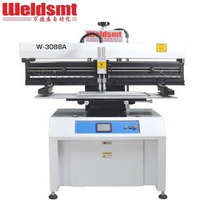 1.2M LED Solder Paste Stencil Printer W-3088A Semi-automatic Stencil Printer