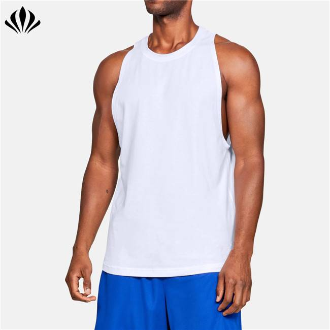 Latest shirt designs sportswear sleeveless t shirt dropped armholes men basketball tank top