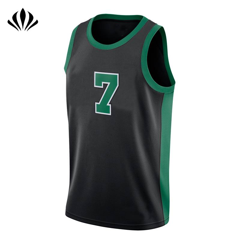 Mens OEM 100% polyester dri fit basketball jersey crew neck mesh training tank top
