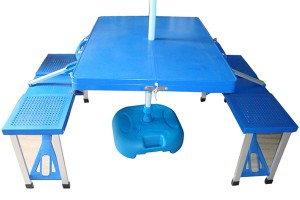 Outdoor camping portable folding Picnic beach table