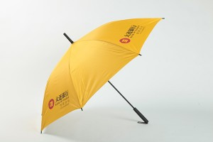 Advertising stick umbrella