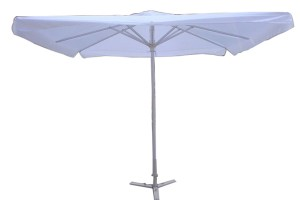 Square shape hotel outdoors umbrella