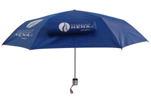 UV protection three section umbrella