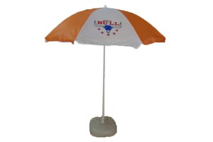 Customized print beach parasol