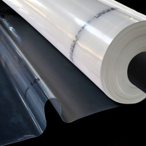 Greenhouse Clear Plastic Film, Polyethylene Kufukidza, UV Protection, Crystal Clear, Long-upenyu