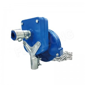 Rufin Manual Film Reeler Hannun crank winch Roll Up Unit domin poly Film greenhouse samun iska NA105