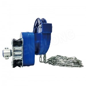 High Sidewall Manual Film Reeler Hannun crank winch Roll Up Unit domin poly Film greenhouse samun iska NSA105