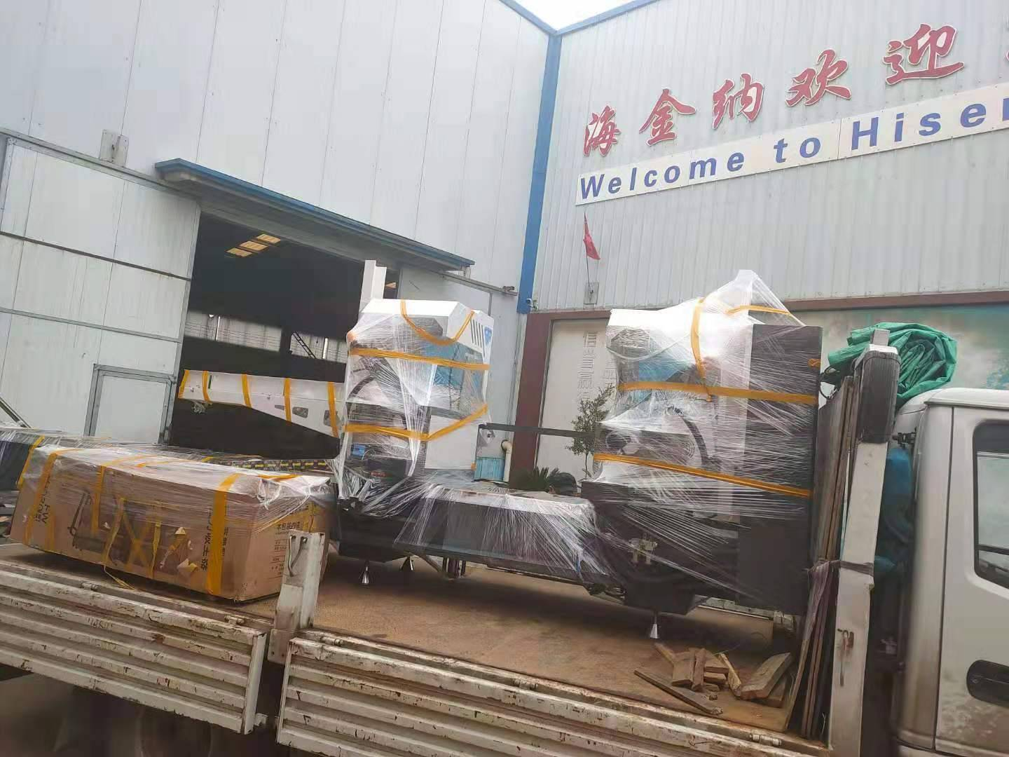 Aluminum Window And Door Machinery Loading For Customer
