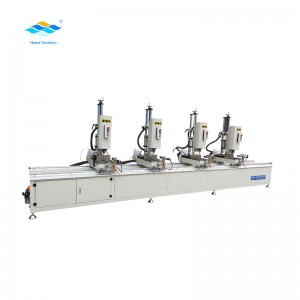 aluminum profile processing multi head drilling machine