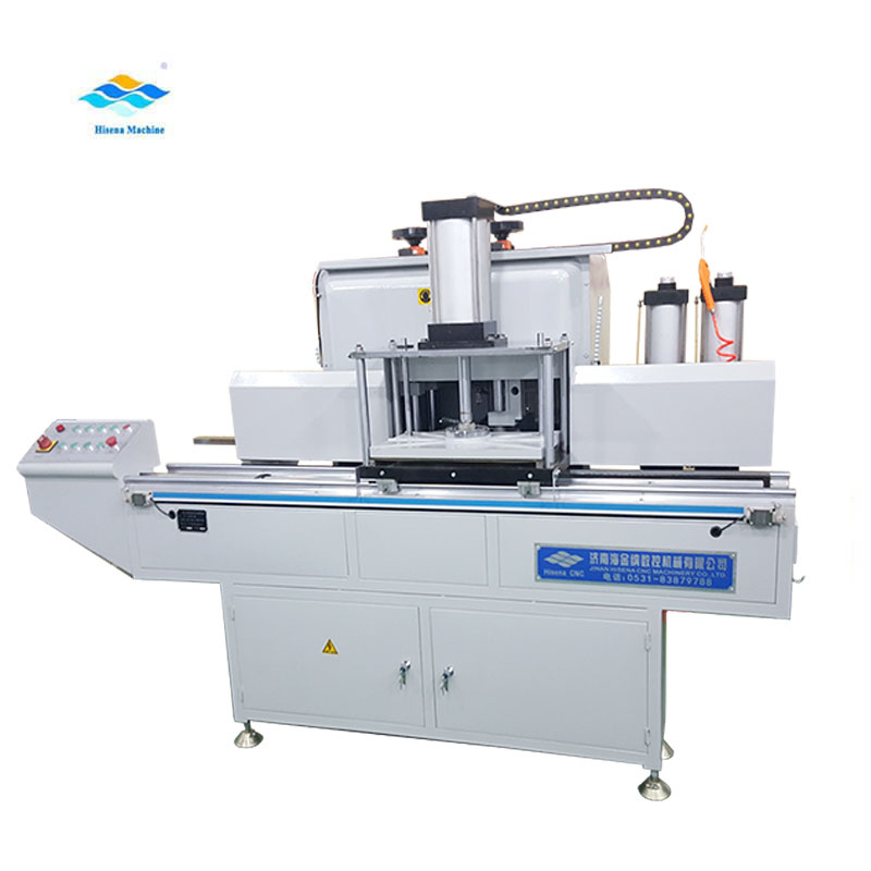 High efficiency window profile end milling machine