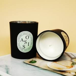 Personalized luxury decorative fragrance soy candles