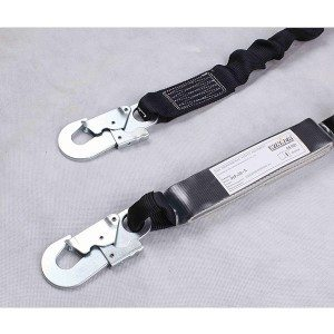Quality Inspection for Safety Lanyard SHL8008 for Marseille Factory
