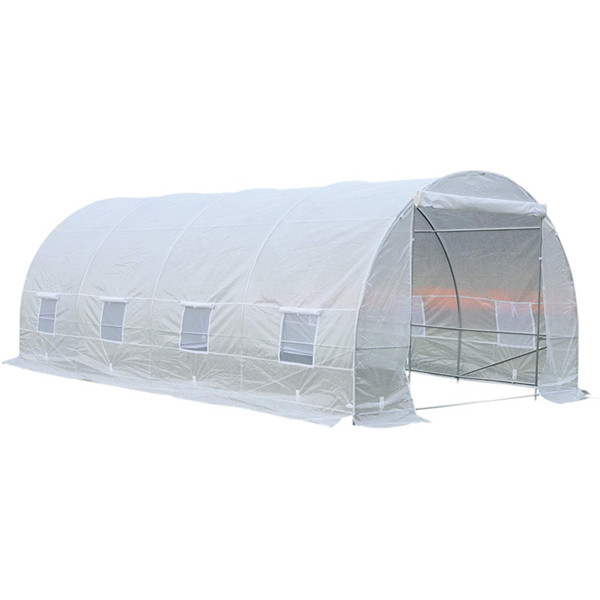 Plastic Tunnel Green House For Agriculture 6x3x2m Featured Image