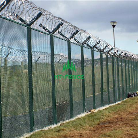 High security anti climb fence