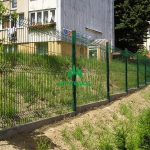 3D Panel Fence-1