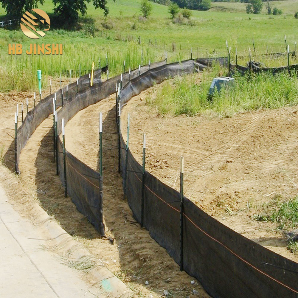 Silt Fence  Erosion Control 3' x 100' with T Post