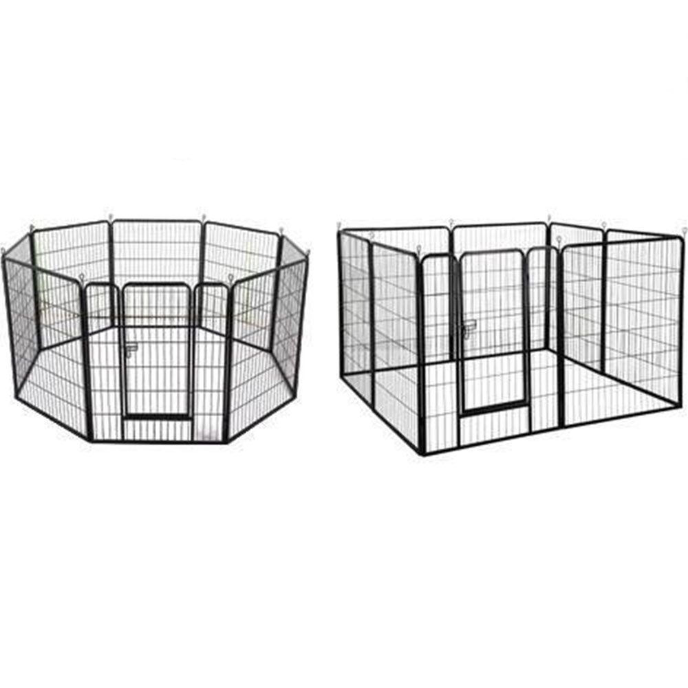 Movable Pet Exercise Cage Kennel  puppy playpen dog pen