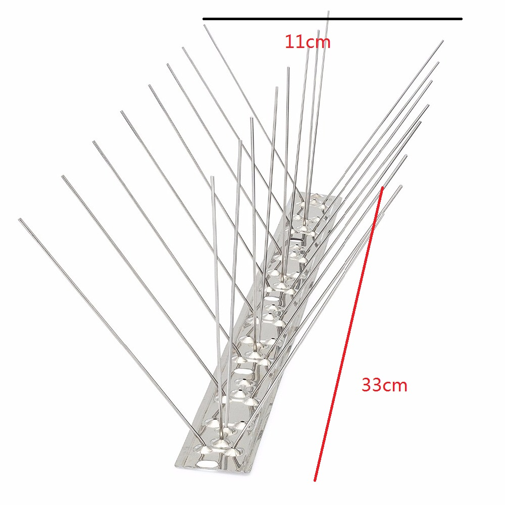 100% Stainless steel bird spikes Anti Bird & Seagulls Spike