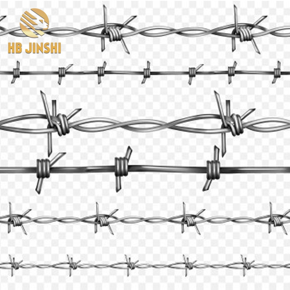 Normal twist galvanized barbed wire price