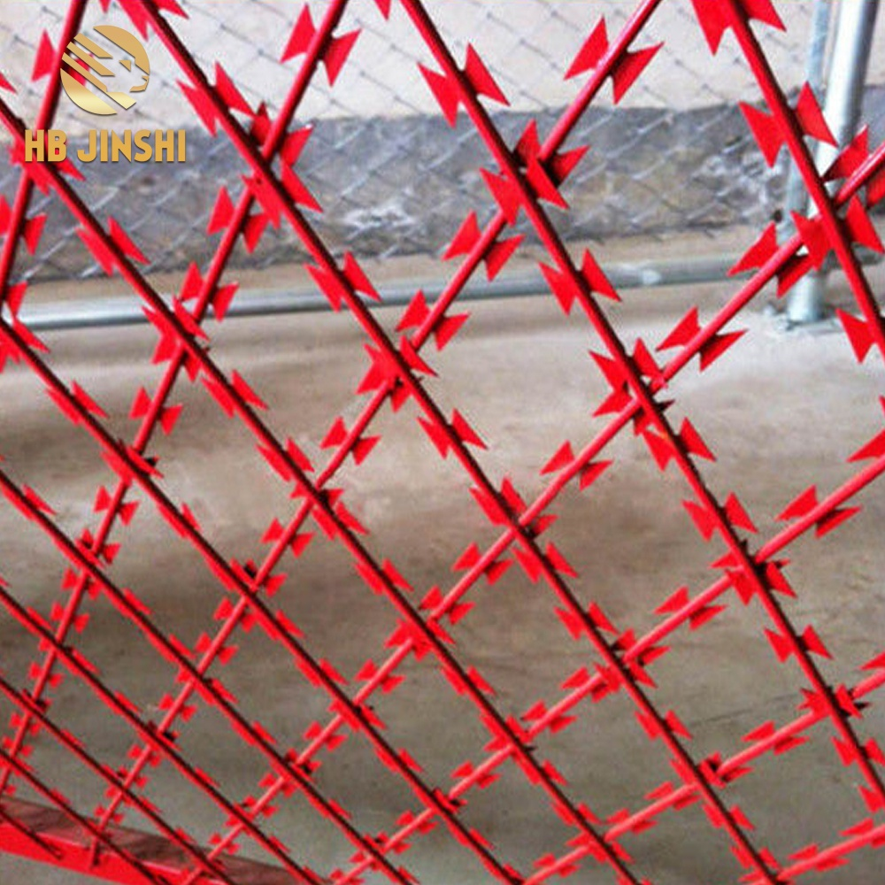 1m-2.5m Welded Razor Wire Diamond Mesh