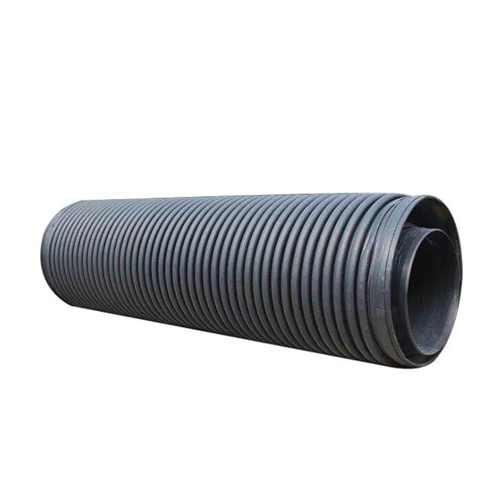 HDPE Corrugated Winding Structure Wall Plastic Pipe Carat Tube