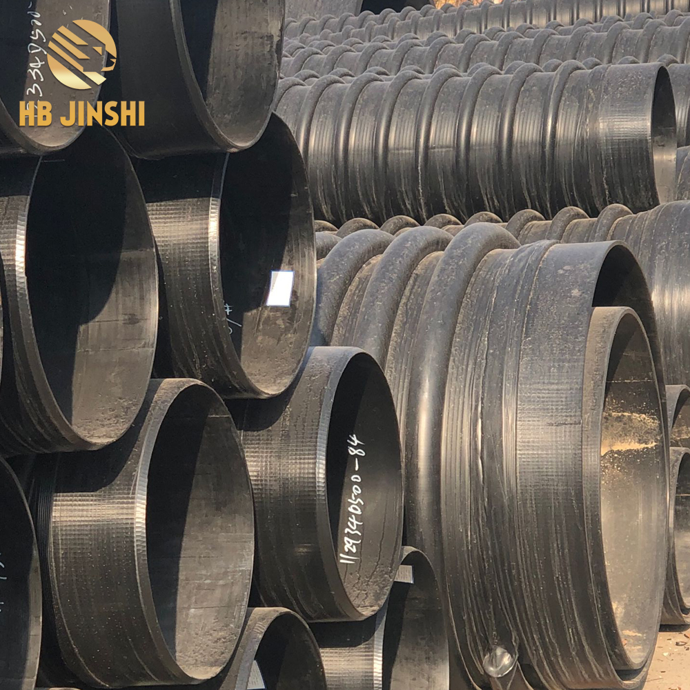 China manufacture for corrugated drainage pipe
