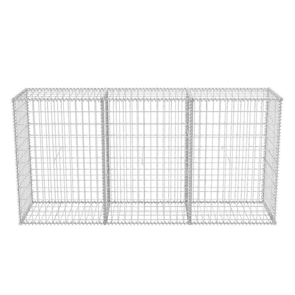 Wire Gabion Rock Fence Metal Cage, Gabion Wall