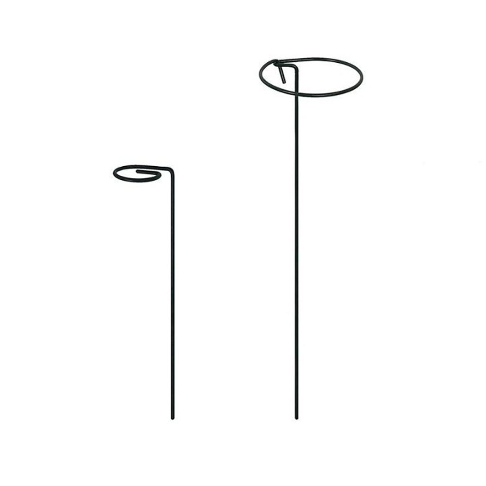 40cm height garden plant support stakes