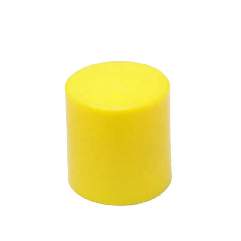 PE Yellow Reo Star Picket Fence Post safety  Cap