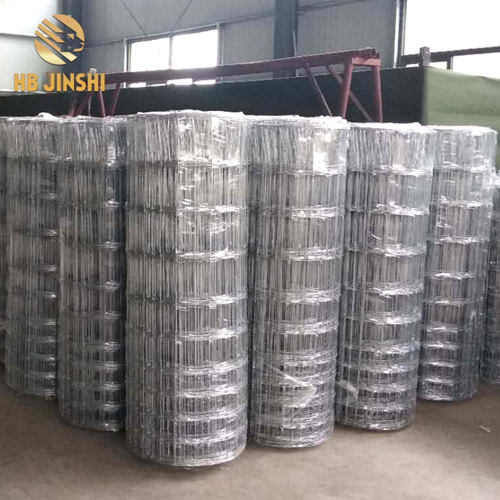2.4m high Hot-dipped Galvanized Fixed Knot Deer Fence for Cambodia Market